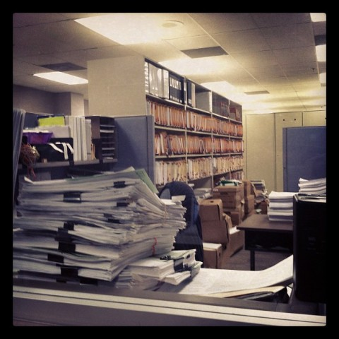 DEP File Room 2012
