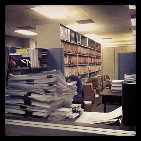 DEP File Room 2012